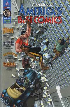 Copertina ABC AMERICA'S BEST COMICS n.2 - AMERICA'S BEST COMICS, MAGIC PRESS