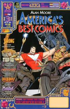 Copertina ABC AMERICA'S BEST COMICS n.3 - AMERICA'S BEST COMICS, MAGIC PRESS