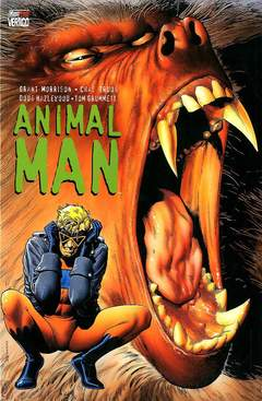 Copertina ANIMAL MAN M3 n.1 - ANIMAL MAN N. 1, MAGIC PRESS