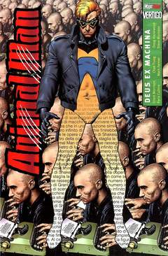 Copertina ANIMAL MAN M3 n.3 - DEUS EX MACHINA, MAGIC PRESS