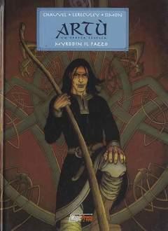 Copertina ARTU n.1 - MYRDDIN IL PAZZO, MAGIC PRESS