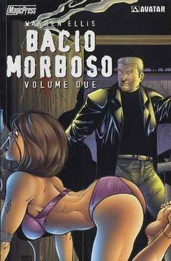 Copertina BACIO MORBOSO n.2 - BACIO MORBOSO VOL.2, MAGIC PRESS