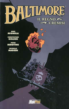 Copertina BALTIMORE n.8 - IL REGNO CREMISI, MAGIC PRESS