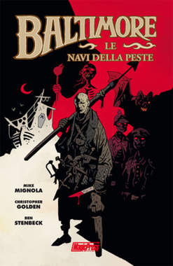 Copertina BALTIMORE n.1 - LE NAVI DELLA PESTE, MAGIC PRESS