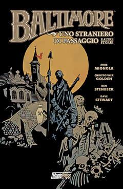 Copertina BALTIMORE n.3 - UNO STRANIERO DI PASSAGGIO E ALTRE STORIE, MAGIC PRESS