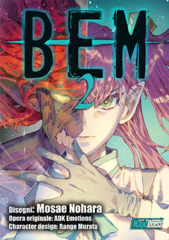 Copertina BEM IL MOSTRO UMANO (m3) n.2 - BEM 2, MAGIC PRESS