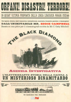 Copertina BLACK DIAMOND - AGENZIA INVESTIGATIVA n.0 - BLACK DIAMOND - AGENZIA INVESTIGATIVA, MAGIC PRESS