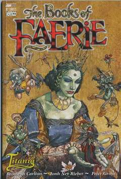 Copertina BOOKS OF FAERIE TITANIA n.0 - THE BOOKS OF FAERIE: TITANIA, MAGIC PRESS