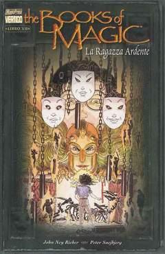 Copertina BOOKS OF MAGIC n.7 - RAGAZZA ARDENTE, MAGIC PRESS