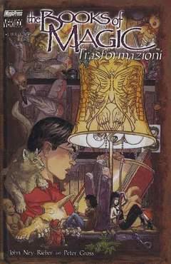 Copertina BOOKS OF MAGIC n.5 - TRASFORMAZIO, MAGIC PRESS