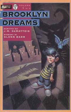 Copertina BROOKLYN DREAMS M2 n.1 - GIORNI DA CANE, MAGIC PRESS