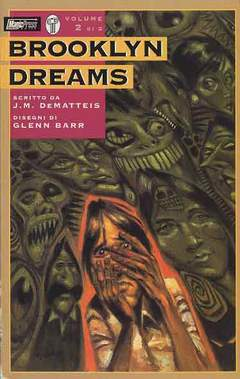 Copertina BROOKLYN DREAMS M2 n.2 - LE PORTE DELLA PERCEZIONE, MAGIC PRESS