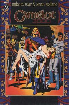 Copertina CAMELOT 3000 n. - CAMELOT 3000, MAGIC PRESS
