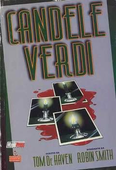 Copertina CANDELE VERDI n.0 - QUANDO LA CANDELA SI SPEGNE... TU MORIRAI, MAGIC PRESS