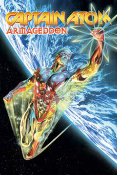 Copertina CAPITAN ATOM (m2) n.1 - ARMAGEDDON, MAGIC PRESS