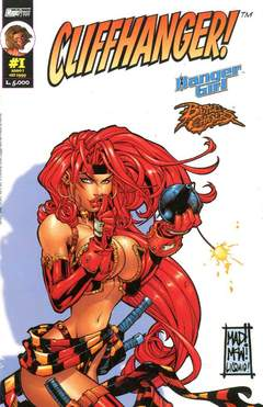 Copertina CLIFFHANGER n.1 - BATTLE CHASERS COVER, MAGIC PRESS