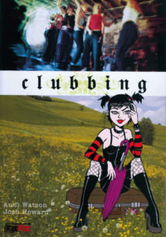 Copertina CLUBBING n.0 - CLUBBING IN UK, MAGIC PRESS