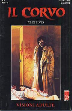 Copertina CORVO PRESENTA n.1 - IL CORVO PRESENTA            1, MAGIC PRESS