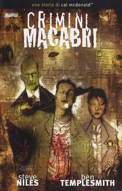 Copertina CRIMINI MACABRI n.1 - CRIMINI MACABRI VOL.1, MAGIC PRESS