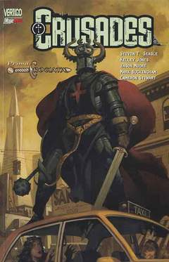 Copertina CRUSADES n.1 - PRIMA CROCIATA, MAGIC PRESS