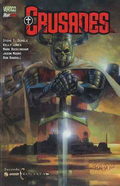 Copertina CRUSADES n.2 - SECONDA CROCIATA, MAGIC PRESS