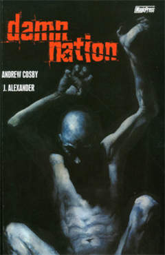Copertina DAMN NATION n. - DAMN NATION, MAGIC PRESS
