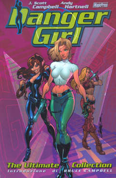 Copertina DANGER GIRL n.0 - EDIZIONE DEFINITIVA, MAGIC PRESS