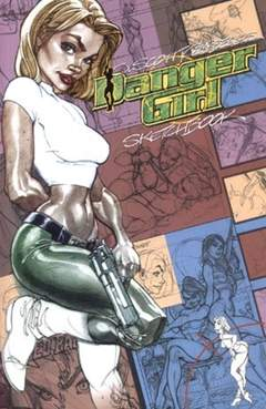 Copertina DANGER GIRL SKETCHBOOK n.0 - DANGER GIRL SKETCHBOOK, MAGIC PRESS