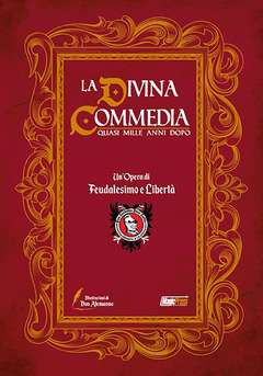 Copertina DIVINA COMMEDIA QUASI M...Cof. n.2 - Cofanetto + Volume #3, MAGIC PRESS