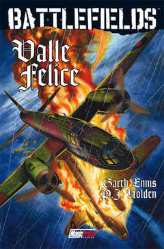Copertina ENNIS' BATTLEFIELDS n.4 - ENNIS' BATTLEFIELDS VOL.4: VALLE FELICE, MAGIC PRESS