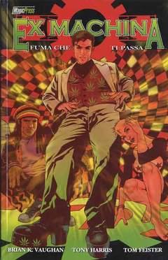 Copertina EX MACHINA serie n.5 - FUMA CHE TI PASSA, MAGIC PRESS