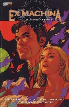 Copertina EX MACHINA serie n.4 - MARCIA DI GUERRA, MAGIC PRESS