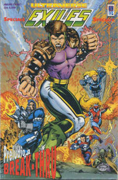 Copertina EXILES SPECIALE ULTRAVERSE n.0 - EXILES SPECIALE, MAGIC PRESS
