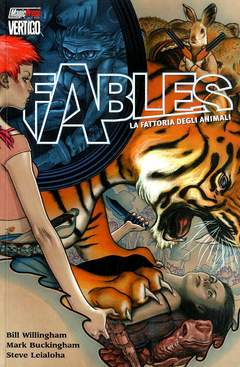 Copertina FABLES n.2 - FATTORIA DEGLI ANIMALI, MAGIC PRESS
