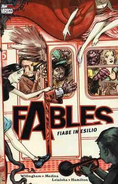 Copertina FABLES n.1 - FIABE IN ESILIO, MAGIC PRESS