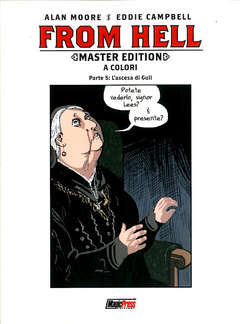 Copertina FROM HELL Master Edition (m5) n.5 - FROM HELL - Master Edition, MAGIC PRESS