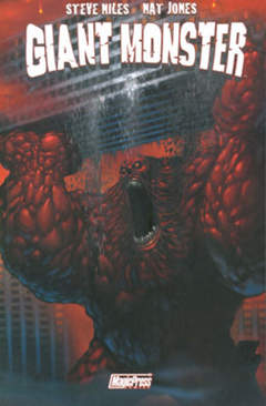 Copertina GIANT MONSTER n. - GIANT MONSTER, MAGIC PRESS