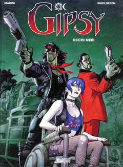 Copertina GIPSY n.4 - OCCHI NERI, MAGIC PRESS