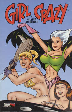 Copertina GIRL CRAZY n. - GIRL CRAZY, MAGIC PRESS