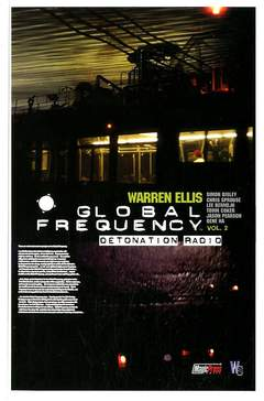 Copertina GLOBAL FREQUENCY n.2 - GLOBAL FREQUENCY             2, MAGIC PRESS