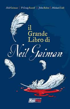 Copertina GRANDE LIBRO DI NEIL GAIMAN n. - IL GRANDE LIBRO DI NEIL GAIMAN, MAGIC PRESS