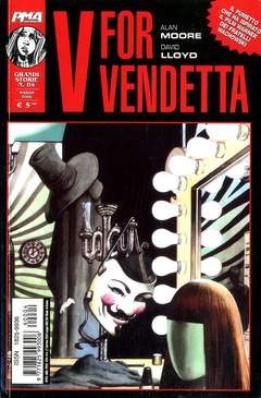 Copertina GRANDI STORIE n.4 - GRANDI STORIE N. 4 V FOR VENDETTA, MAGIC PRESS