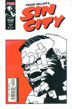Copertina GRANDI STORIE n.1 - SIN CITY, MAGIC PRESS