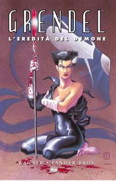 Copertina GRENDEL n.1 - GRENDEL VOL.1: L'EREDITA' DEL DEMONE, MAGIC PRESS