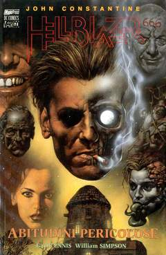 Copertina HELLBLAZER n.1 - ABITUDINI PERICOSE, MAGIC PRESS