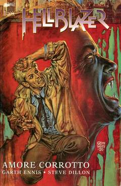 Copertina HELLBLAZER n.6 - AMORE CORROTTO, MAGIC PRESS
