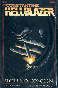 Copertina HELLBLAZER n.speci - TUTTI I SUOI CONGEGNI, MAGIC PRESS