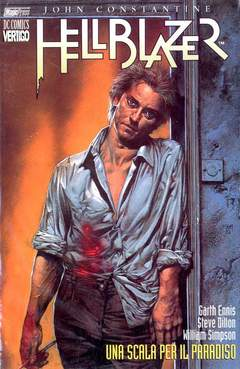 Copertina HELLBLAZER n.4 - UNA SCALA PE RIL PARADISO, MAGIC PRESS