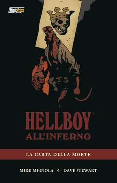Copertina HELLBOY ALL'INFERNO n.2 - HELLBOY ALL'INFERNO VOL.2: LA CARTA DELLA MORTE, MAGIC PRESS