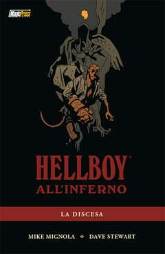 Copertina HELLBOY ALL'INFERNO n.1 - HELLBOY ALL'INFERNO VOL.1: LA DISCESA, MAGIC PRESS